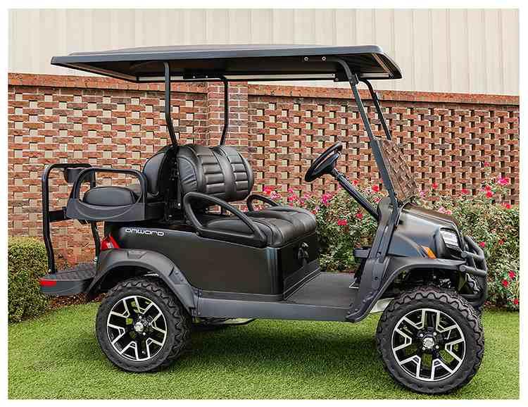 美国进口充电车_美国进口Onward四座加高越野底盘电瓶车_ClubCar|进口美国电动车球车